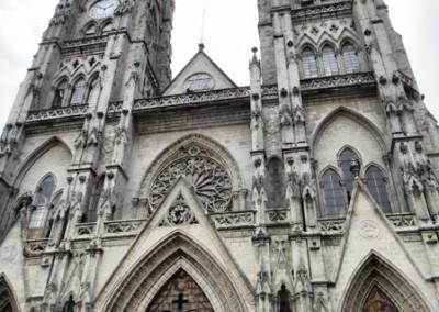 gothic basilica in quito