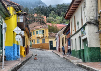 walking in bogota colombia