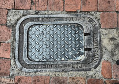 bogota colombia drain cover