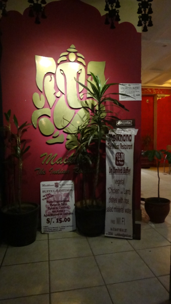 Hidden Gem – All You Can Eat Indian Buffet In Cusco for S/.15