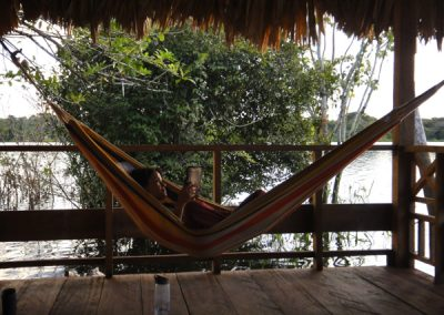community in the amazon rainforest