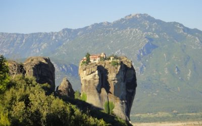 In the heavens above: The monasteries of Meteora, Greece