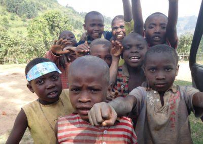 Kids in Uganda