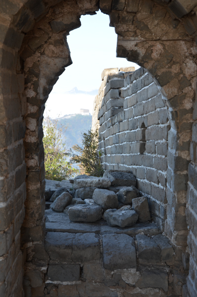 unrestored great wall of china beijing
