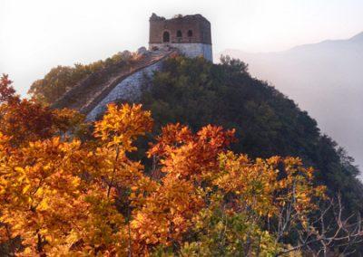 zhengbeilou watch tower in the fall
